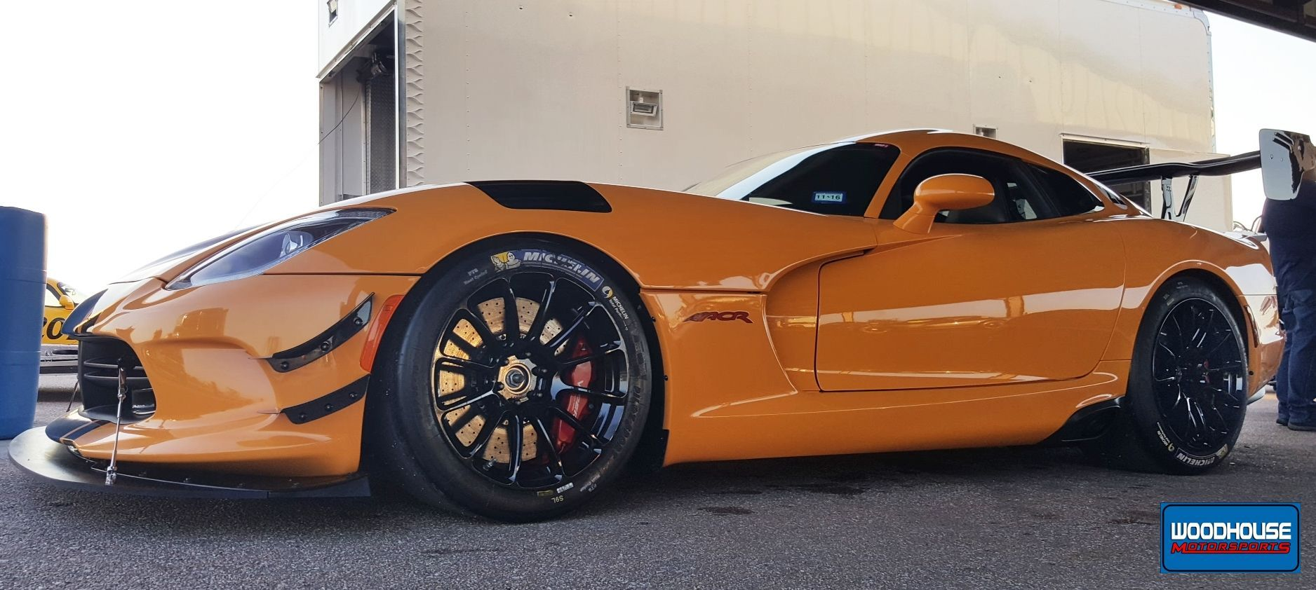 2016 Dodge Viper | JD Hertweck's Dodge Viper ACR Extreme on Forgeline One Piece Forged Monoblock GTD1-Viper Wheels