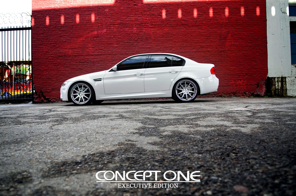 2009 BMW M3 | '09 BMW M3 on Concept One CS-10's
