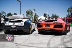 Bugatti and Lambo