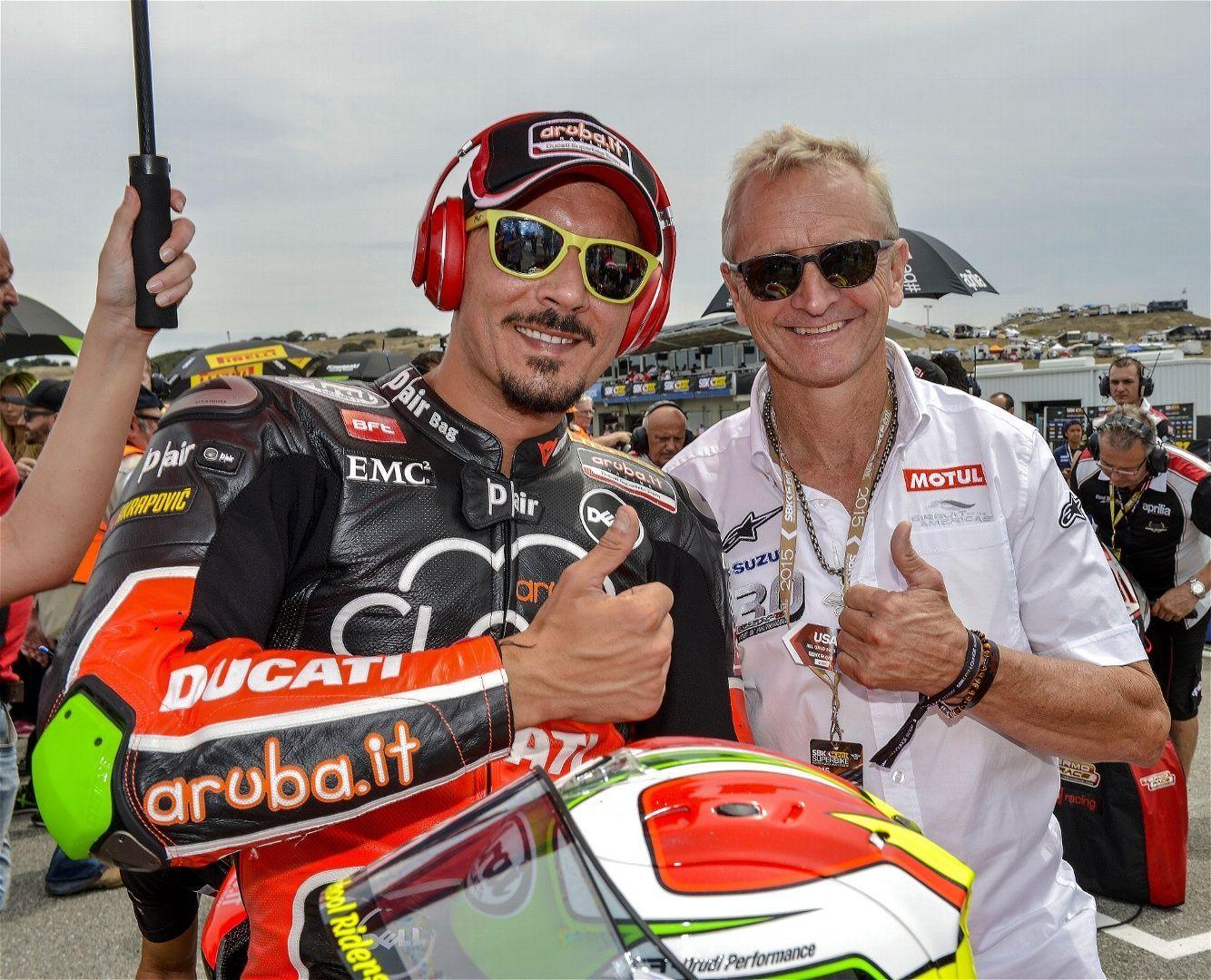 2015 Ducati Panigale R   Davide Giugliano