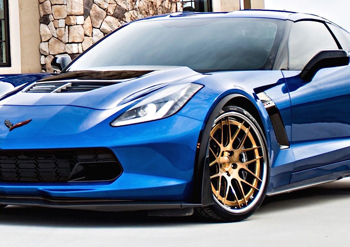 2015 Chevrolet Corvette Z06 |  Corvette C7 Z06 on Forgeline DE3C-SL Wheels