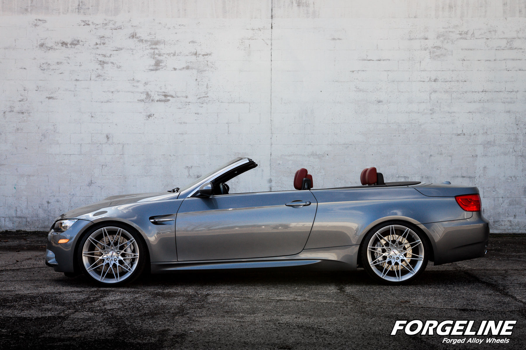 2011 BMW M3 | Sherri Schardt's BMW E92 M3 Convertible on Forgeline One Piece Forged Monoblock MT1 Wheels