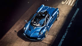 The New Pagani Huayra - View From Up Top