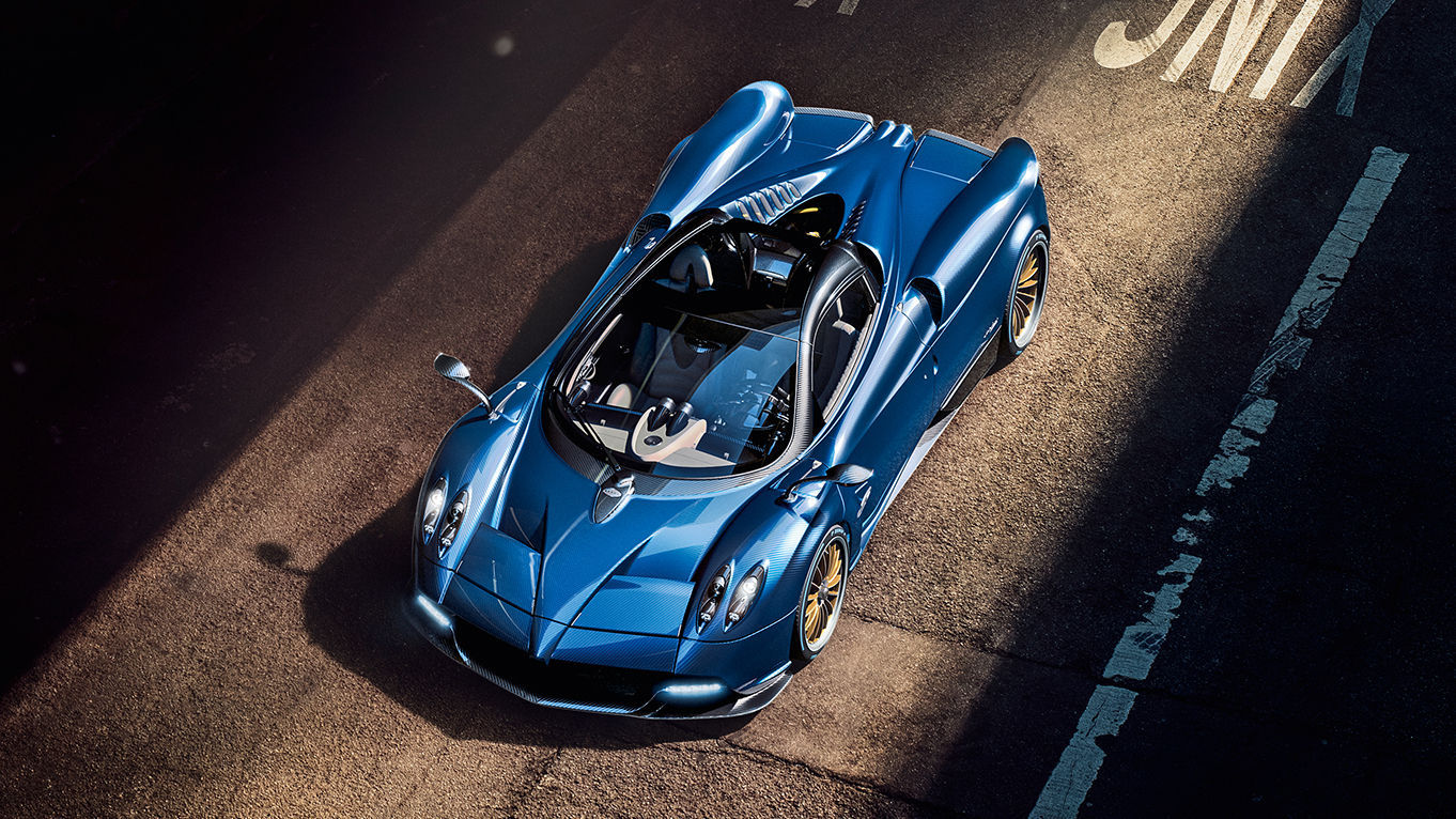 the pagani huayra roadster is legitimately different than the coupe