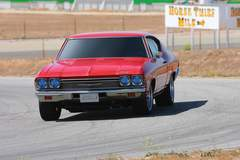 '68 Chevelle on track