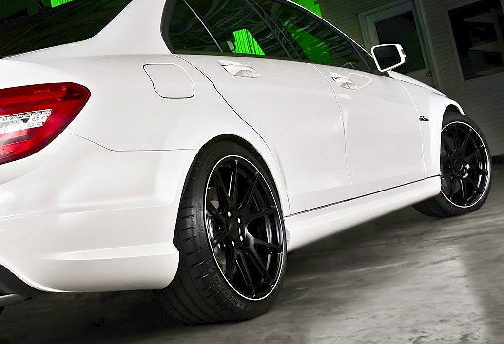 2013 Mercedes-Benz CLS 63 AMG | Harrop-Enhanced AMG C63 on Forgeline One Piece Forged Monoblock GA1R Wheels