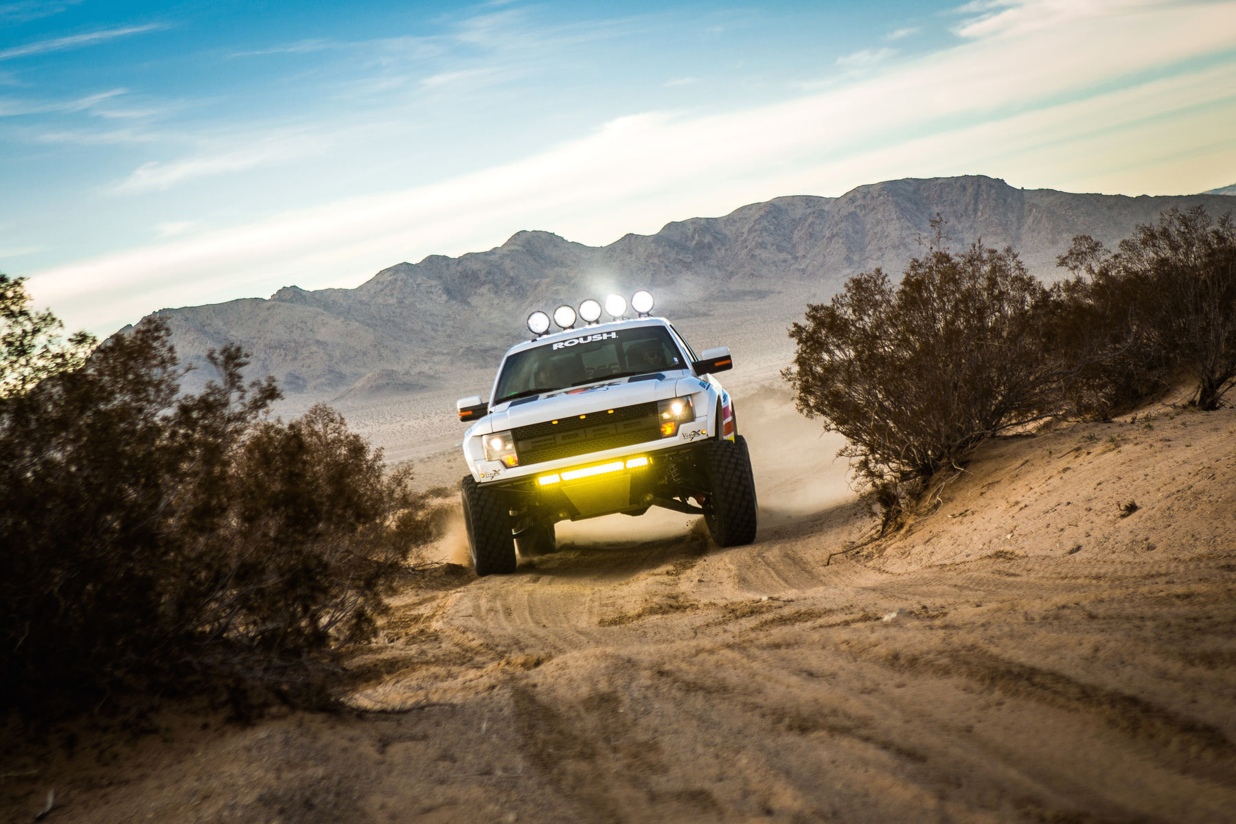 2013 Ford Raptor | Fox RPG Off-Road Raptor - Off-road Terrain
