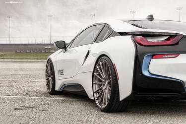 "2016 BMW i8 | BMW i8 on 22"" Avant Garde's - Stanced"