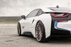 "BMW i8 on 22"" Avant Garde's - Stanced"