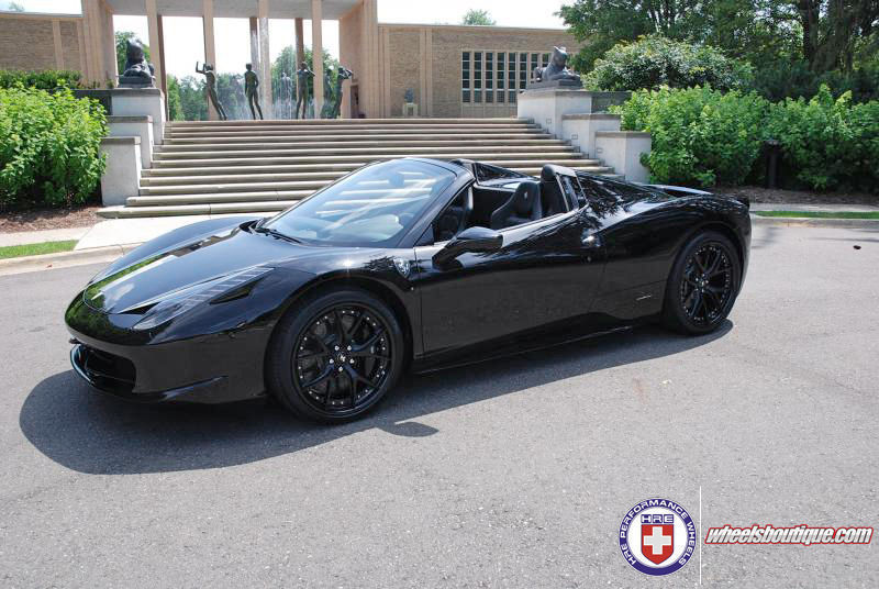 Ferrari 458 Italia | Ferrari 458 on HRE S101 - Blacked Out