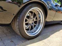 "Gary Popolizio's ""Evolution"" '67 Camaro on Forgeline GA3 Wheels - Spoke Shot"