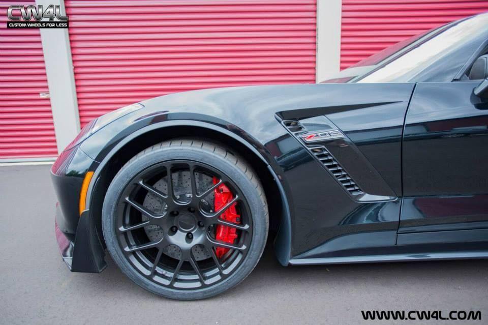 2015 Chevrolet Corvette | C7 Corvette Z06 on Forgeline SE1 Deep Cap Wheels