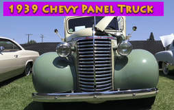 Classic 1939 Chevy Panel Truck