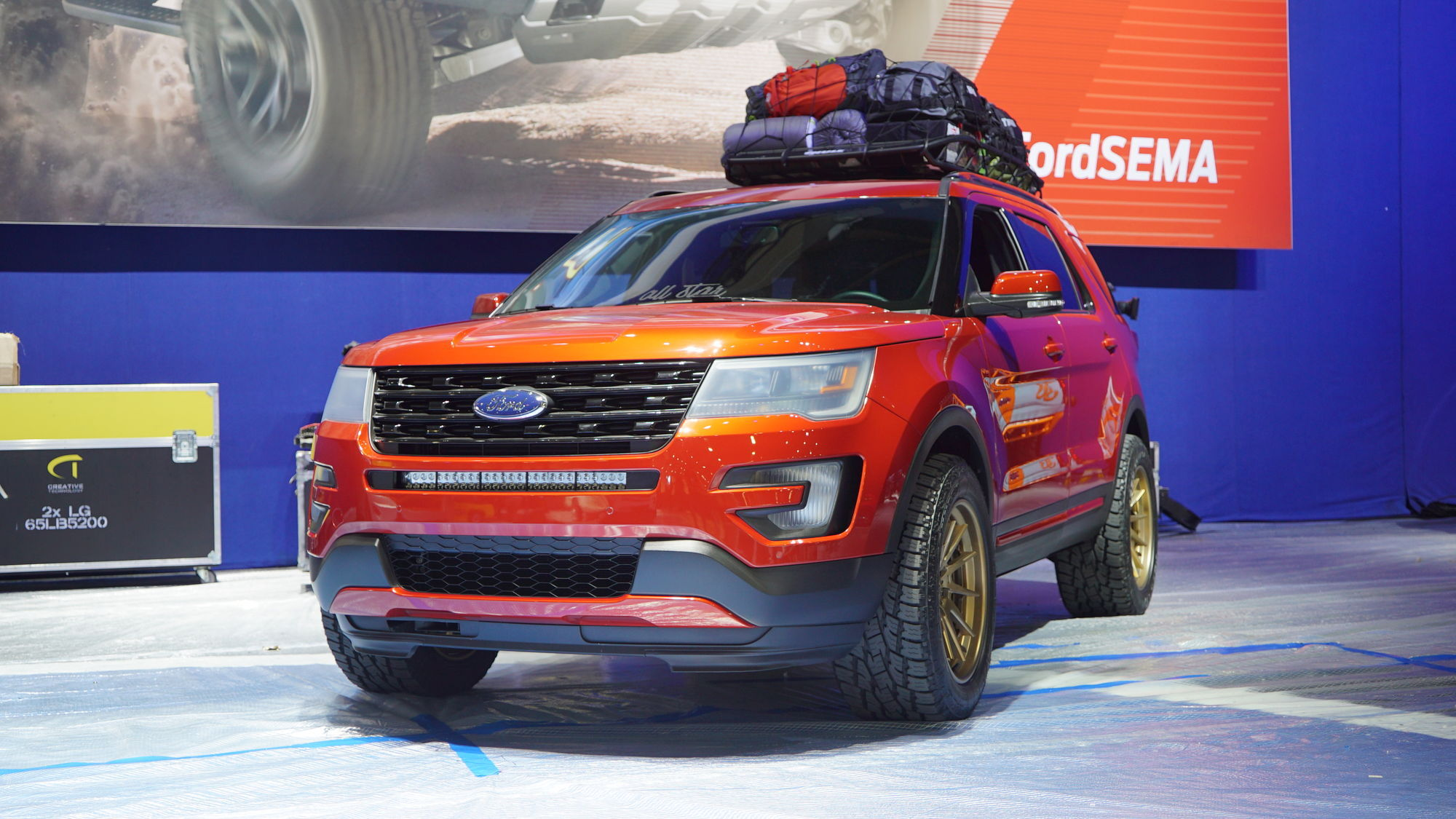 15 Ford Explorer Sport By All Star Performance Front Shot