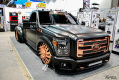 Shots from around SEMA show