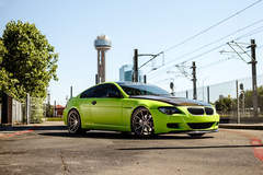 Green BMW 6 Series - Passenger Side