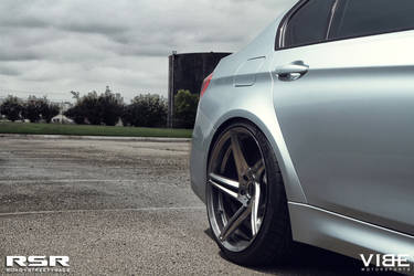"2015 BMW M3 | '15 M3 on RSR 20"" Wheels - Wheel Fitment"