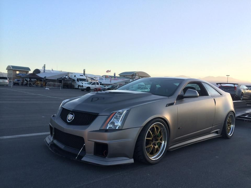 2012 Cadillac CTS-V Coupe   D3 Cadillac's 825HP Legionnaire Cadillac CTS-V Coupe on Forgeline GA3R Wheels