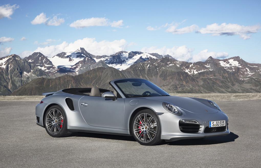 2014 Porsche 911 | '14 Porsche 911 Turbo Cabriolet