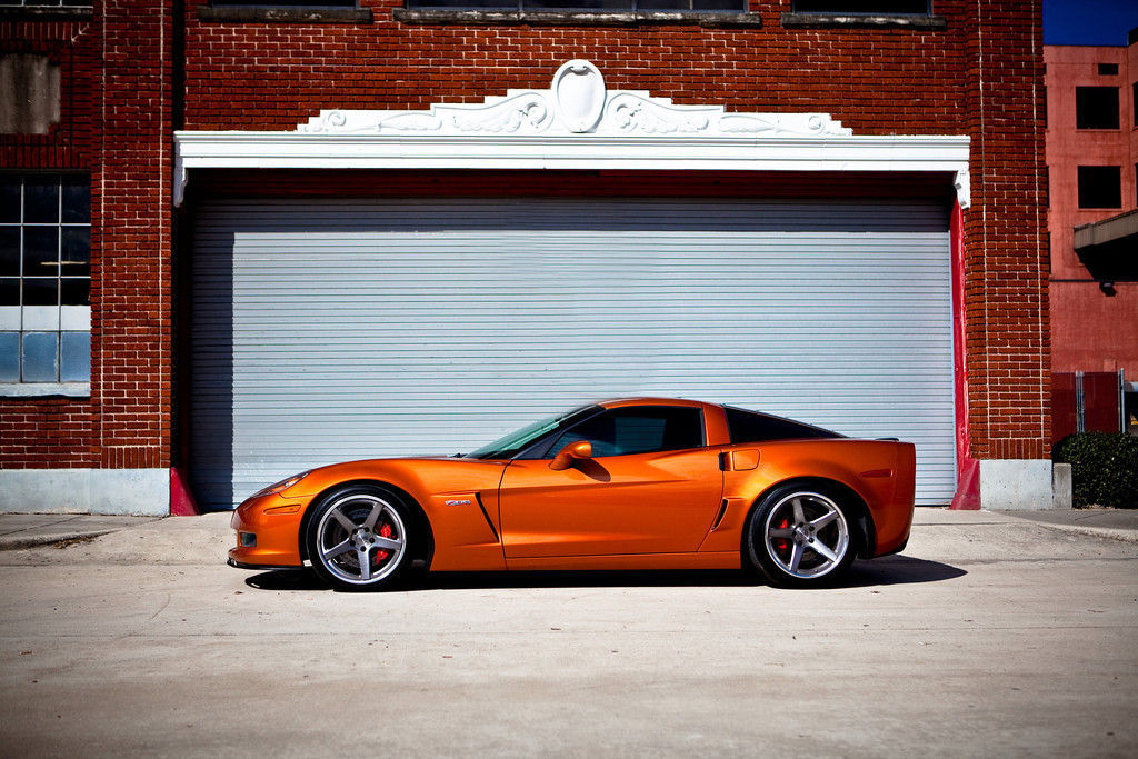2008 Chevrolet Corvette Z06 | Corvette Z06 on Forgeline CF3C Wheels