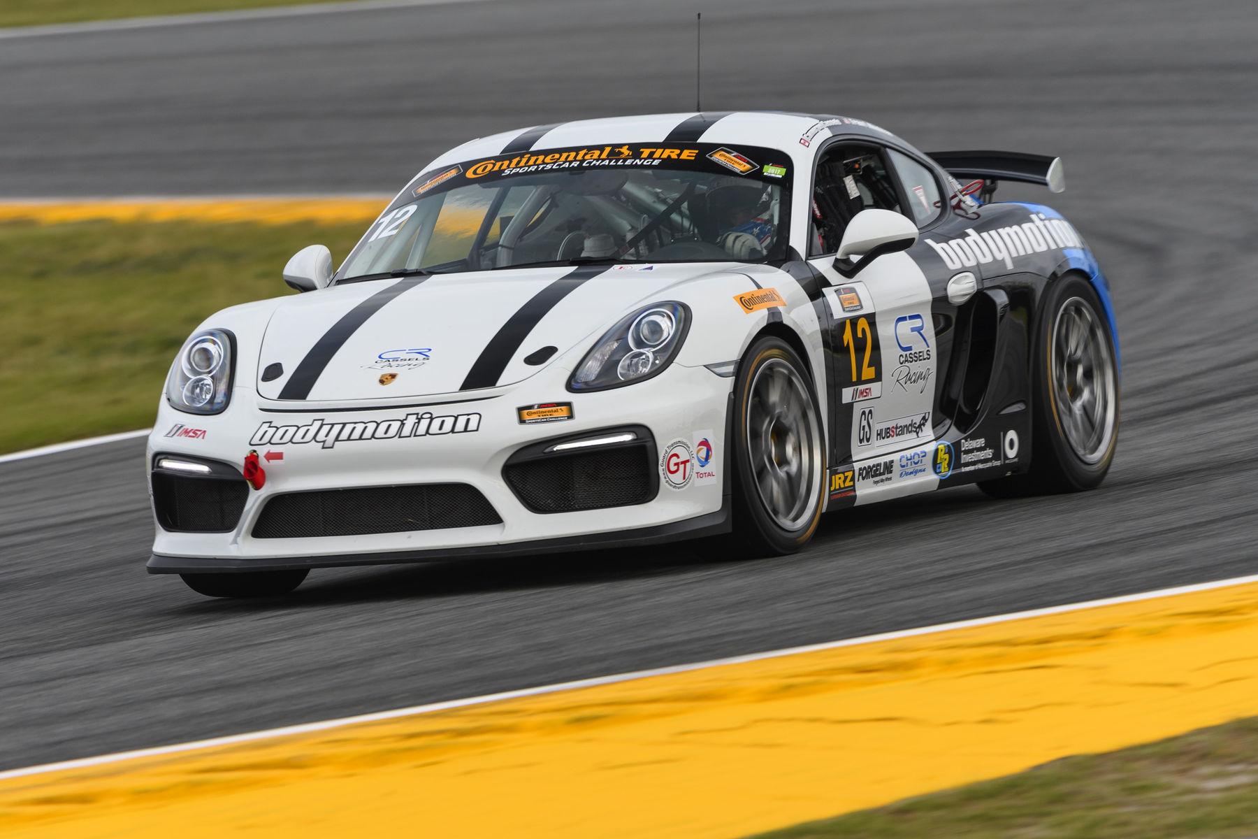 2017 Porsche Cayman | Forgeline-Equipped Porsche Caymans Dominate IMSA CTSC 2017 Season Opener at Daytona