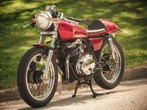 Ted Cichocki's XS500 Cafe Racer