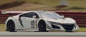 Video: Flashback Friday to Pirelli World Challenge at Mid-Ohio 2016, RealTime Racing Tests New Acura NSX on Forgeline One Piece Forged Monoblock GE1R Wheels