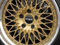 Forgeline Heritage Series LS3 in Satin Gold