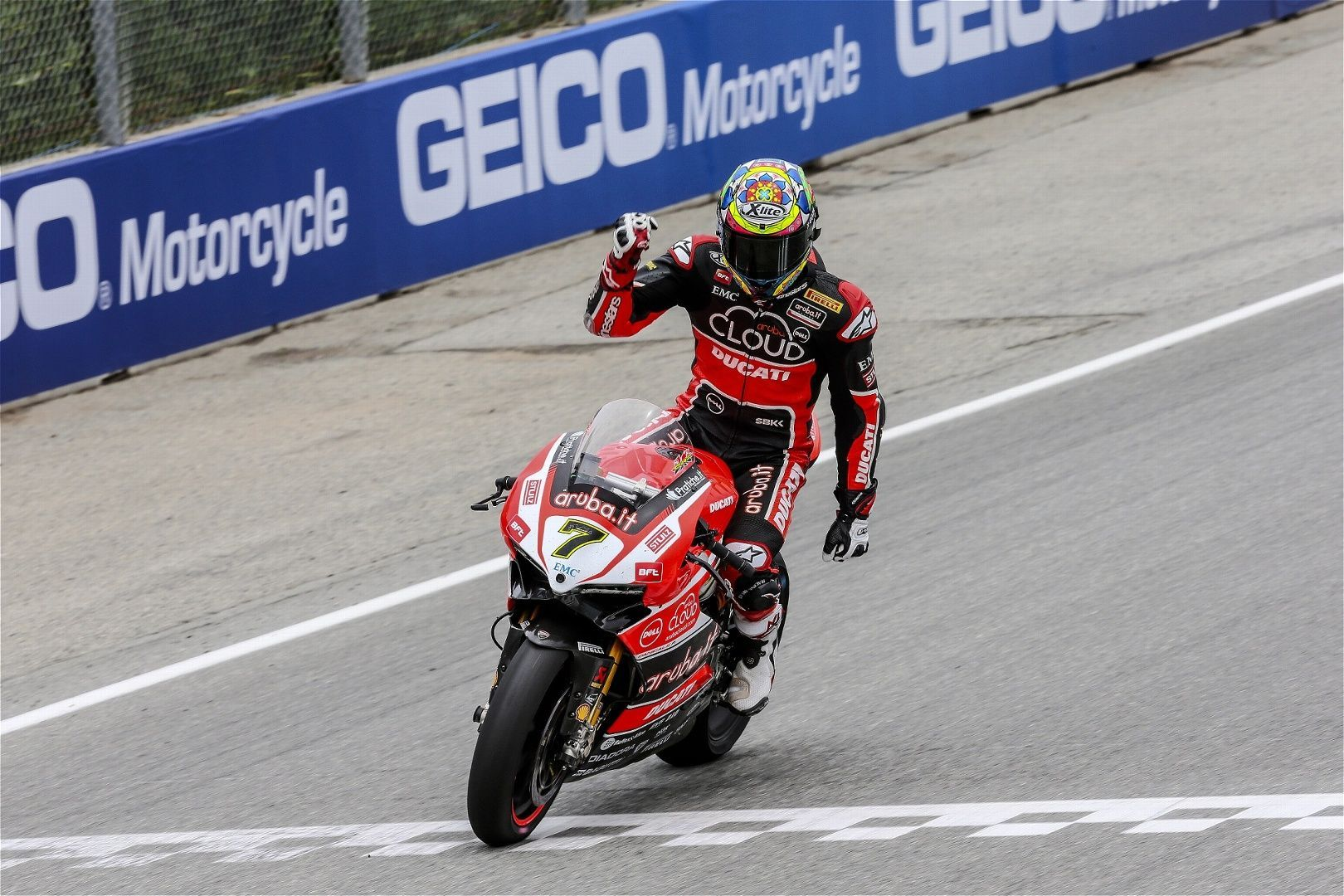 2015 Ducati Panigale R | Chaz Davies wins both rounds at Laguna Seca