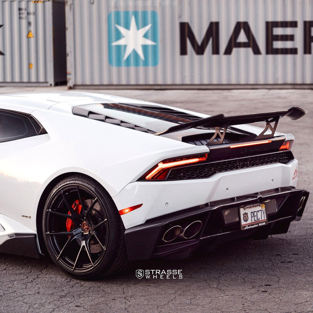 Lamborghini Huracan | Strasse Wheels Lamborghini Huracan