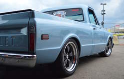 Randy Johnson's D&Z Customs 1968 Chevy C10 Shop Truck on Forgeline Heritage Series CR3 Wheels - Passenger Side View