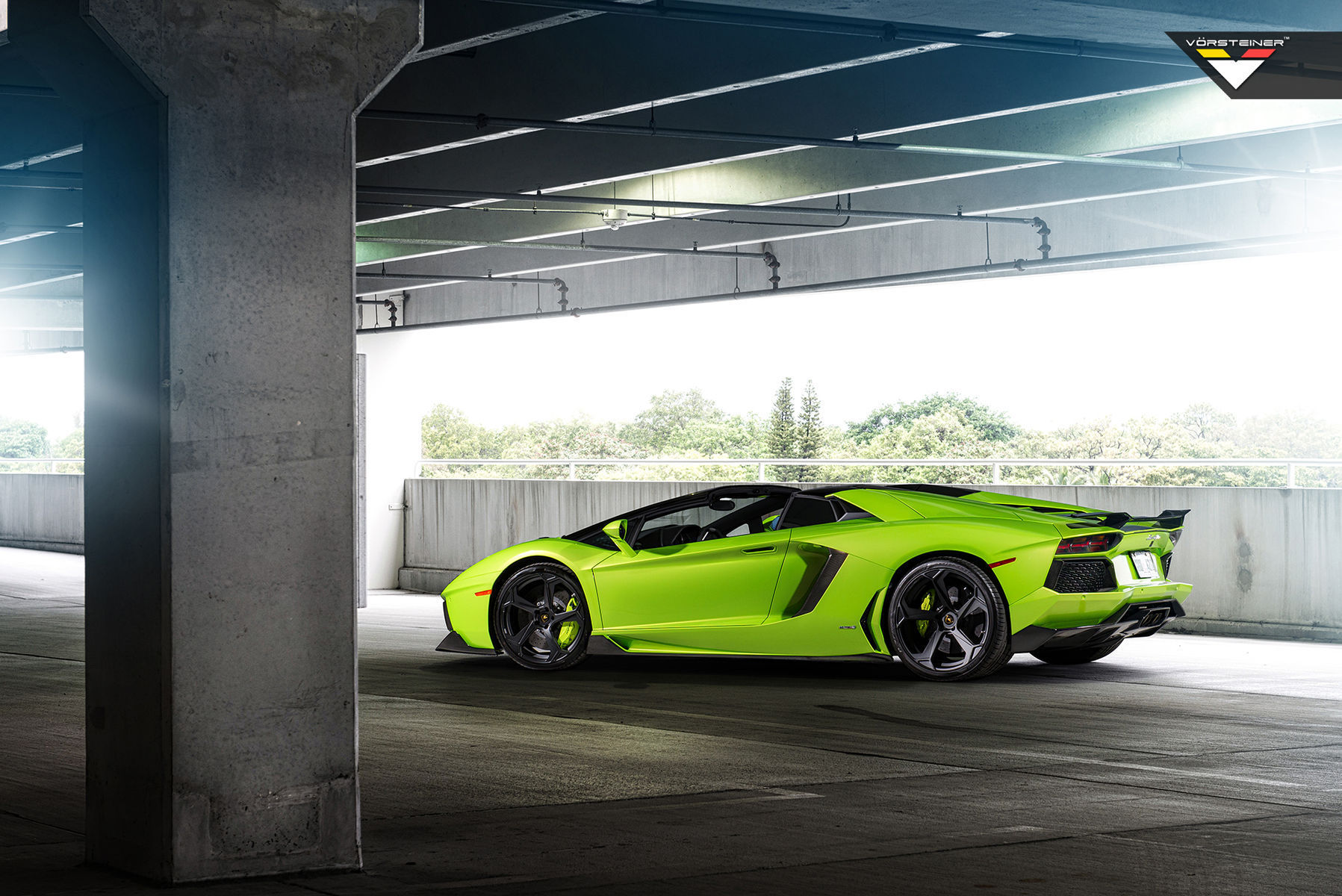 2013 Lamborghini Aventador | Vorsteiner AVENTADOR-V for the Coupe / Roadster