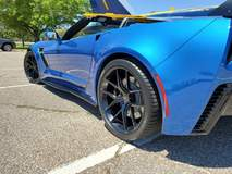 Greg B's Chevrolet C7 Corvette Z06 Convertible on Forgeline One Piece Forged Monoblock VX1 Wheels