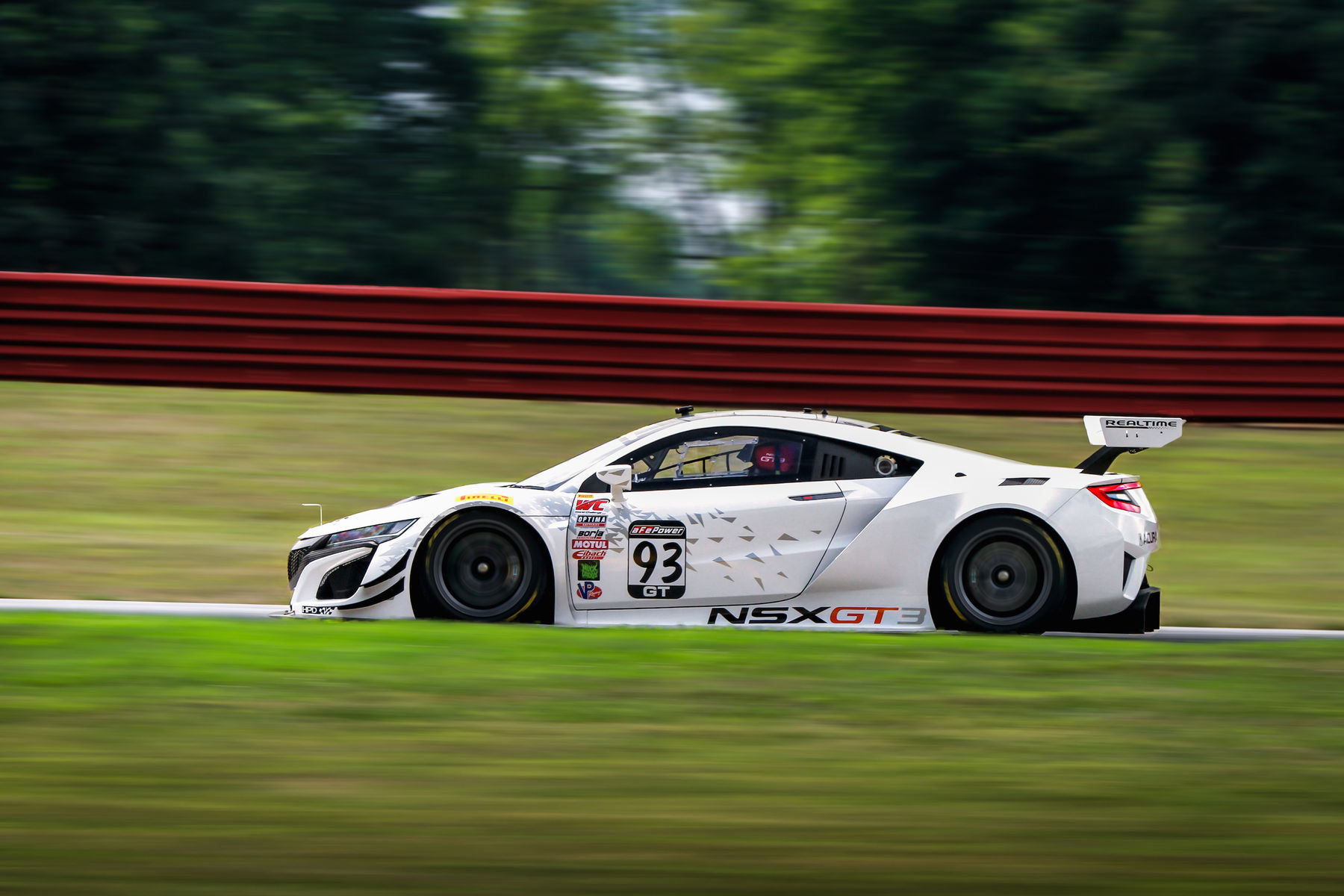 2017   | RealTime Racing Acura NSX GT on Forgeline One Piece Forged Monoblock GE1R Wheels