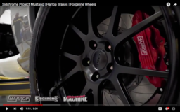Forgeline and Harrop Team Up on the Sidchrome Tools 1969 Ford Mustang Project