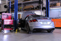 Audi TTRS - Silver