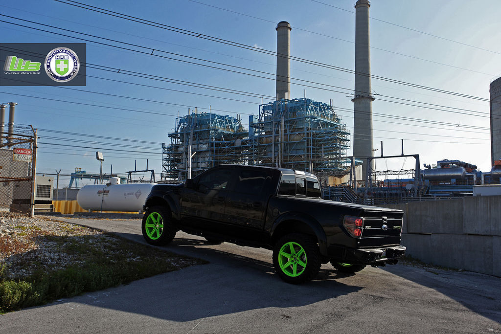 Ford F-150 | Ford Raptor on HRE TR46