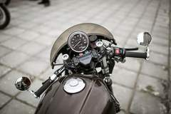 Rocket Motorcycles' CB750 Cafe Racer