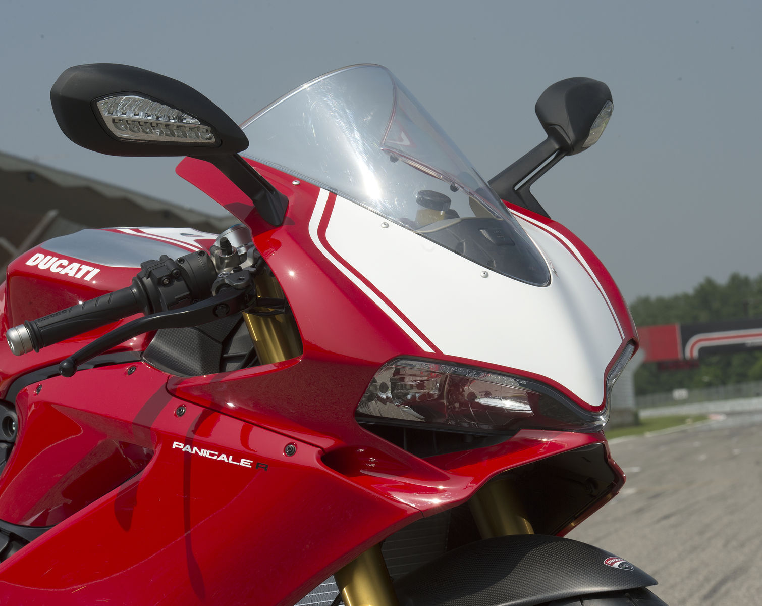 2016 Ducati Panigale R | Panigale R - Headlights