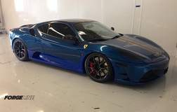 SW's Ferrari F430 Scuderia Track Car on Forgeline GA1R Open Lug Wheels