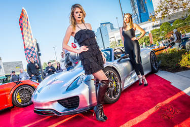2015 Porsche 918 Spyder | Porsche 918 Spyder on the Red Carpet