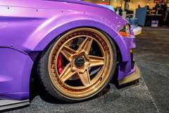 Tjin Edition Ford Mustang on Forgeline NT3C Concave Wheels