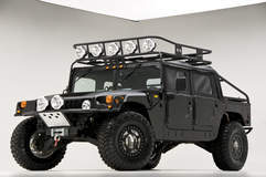 RCH Designs Custom Built Hummer H1 - Low Angled Front Shot