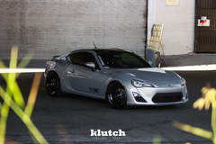 "FR-S on 18"" Klutch ML1 Wheels - Stance Shot"