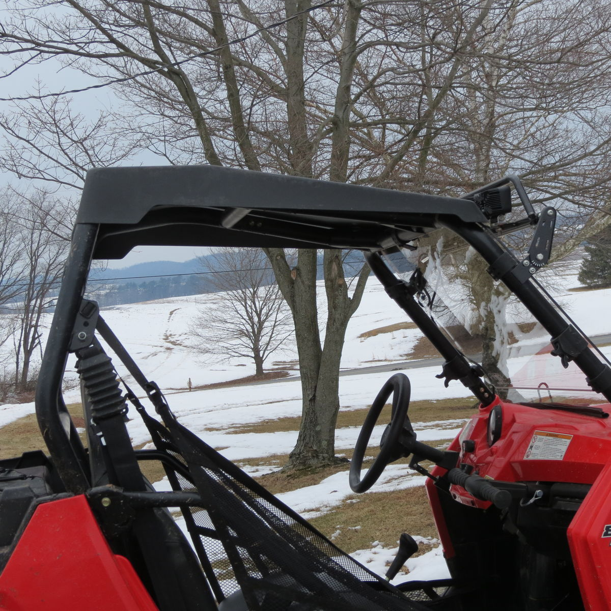 2014 Polaris  | Extreme Metal Products Cooter Brown RZR Top