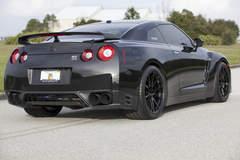 "Titan Motorsports Nissan ""Black Edition"" GT-R on Forgeline One Piece Forged Monoblock GA1R Wheels"
