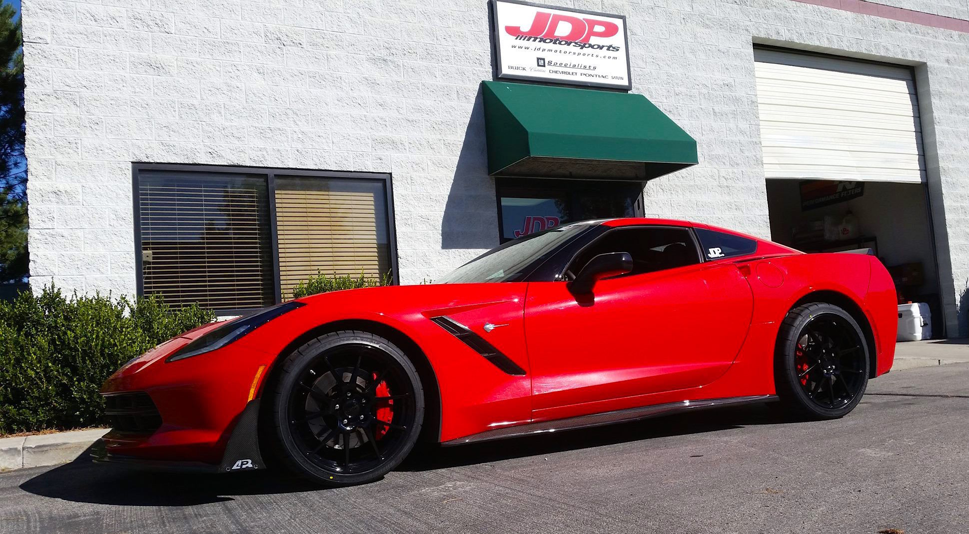 2014 Chevrolet Corvette Stingray | Corvette on Forgeline GA1R Wheels