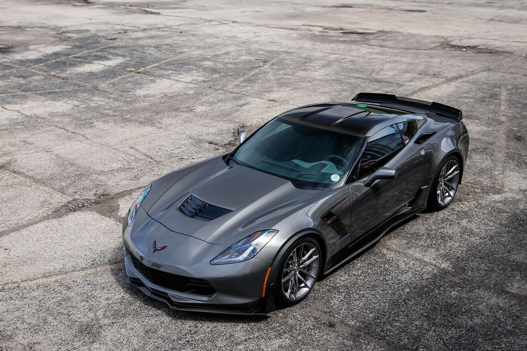2015 Chevrolet Corvette Z06 | Forgeline C7 Corvette Z06 on AR1 Wheels - Full Shot