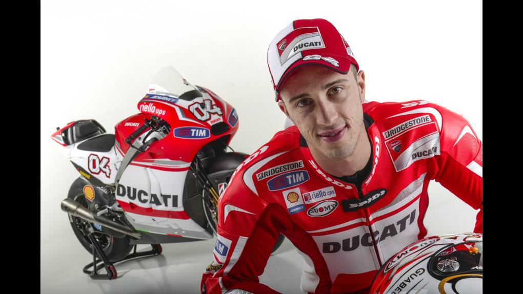 2014 Ducati    2014 Ducati MotoGP Press Event - Dovizioso