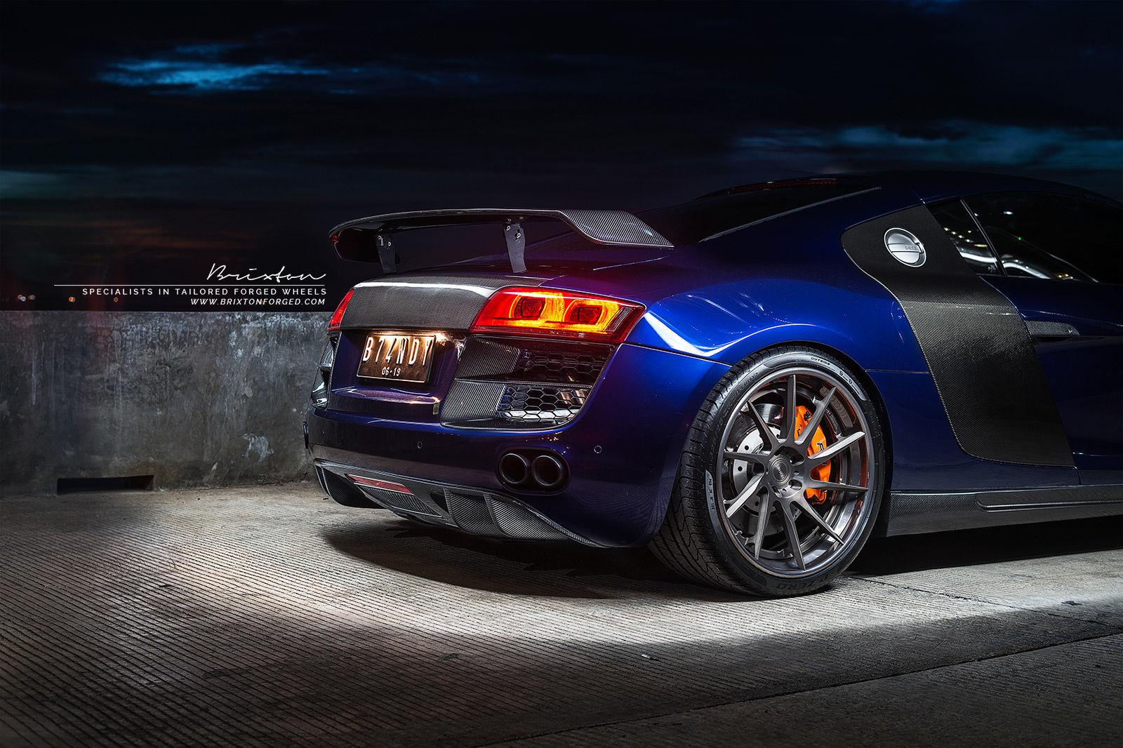 2015 Audi R8 | Audi R8 / Brixton Forged R10D Targa Series